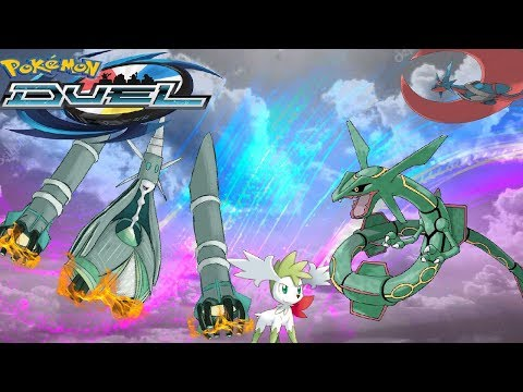HOW IS THIS LEGAL!?   SHAYMIN OP!!   Pokemon Duel