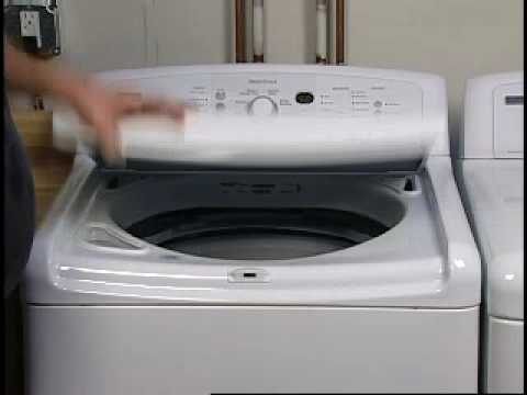 Standard Top Load Washer Troubleshooting: Odor