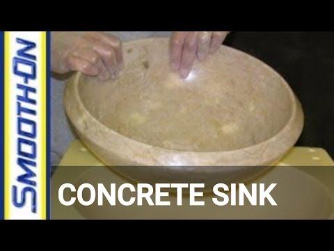 Concrete Casting: Moldmaking for a Concrete Sink