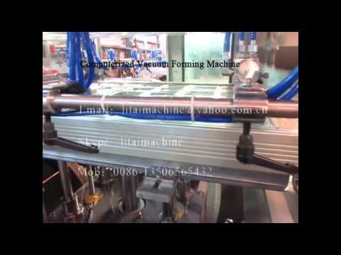 Automatic Plastic Container Forming Machine