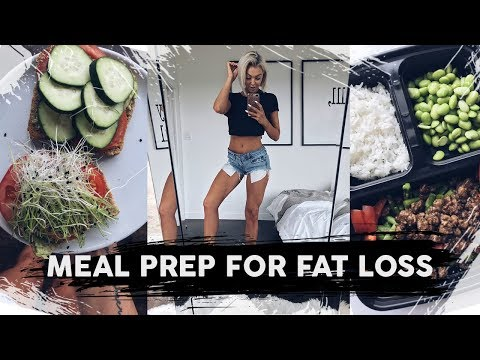 Meal Prep For FAT Loss