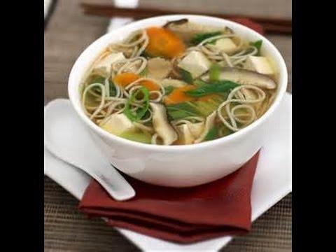 Noodle & Tofu Soup | High Protein Vegan