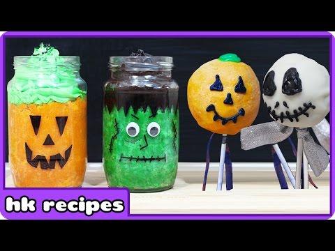 Halloween DIY Treats   Quick and Easy Halloween Treats by HooplaKidz Recipes
