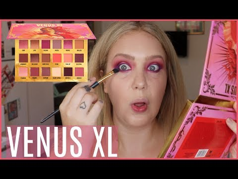 LIME CRIME VENUS XL Palette! Swatches, Tutorial & First look! | Jade Madden
