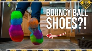 Download Do Bouncy Ball Shoes Make You Jump Higher? Video