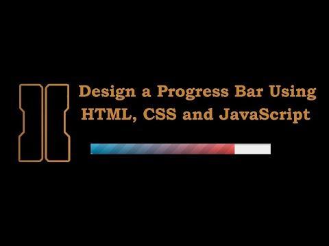 How to Create Progress Bar  HTML Tutorials  CSS Tutorials  JavaScript Tutorials