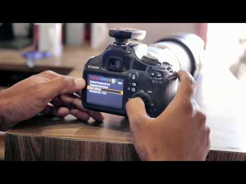 photography tutorial /reset canon dslr camera & set  exposure  [Marathi] me