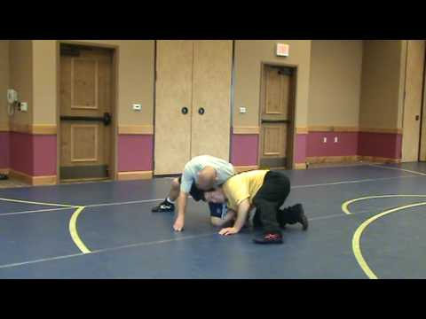 Terry Brands technique finishes if guy whizzers hard and turns his hips. wrestling