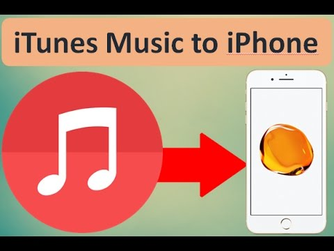How to transfer music from itunes to iphone 7,7 plus, 6 plus, iPad, iPod