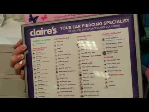 CLAIRE'S EAR PIERCE DOUBLE GUNS