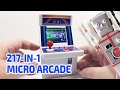 217-IN-1 MICRO ARCADE MACHINE by Snappi Working Miniature