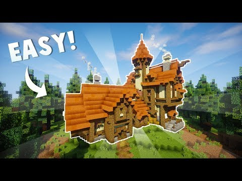 How to Build a MEDIEVAL House in Minecraft!