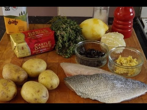 How To Fillet And Cook Sea Bream..Gilthead Sea Bream,Lemon Thyme And Olives.