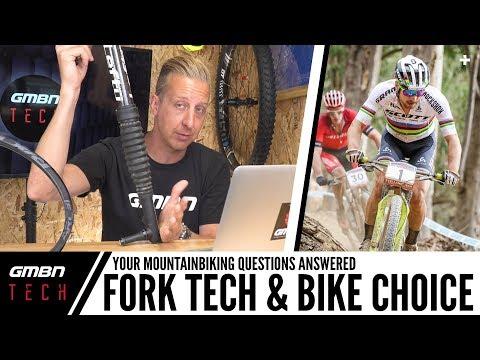 MTB Fork Technology & Bike Choices | Ask GMBN Tech