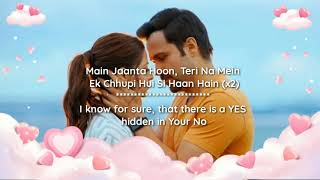 Mai Jaanta Hoon - Lyrics with English translation Emraan Hashmi Jubin Nautiyal The Body 