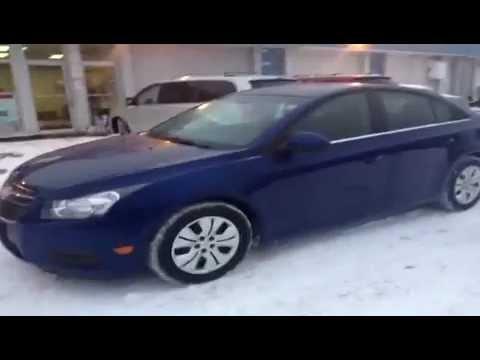 2012 Chevrolet Cruze LT TURBO - Winnipeg Used Car Dealer