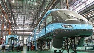 KL Monorail -New Monorail Car  (Scomi)