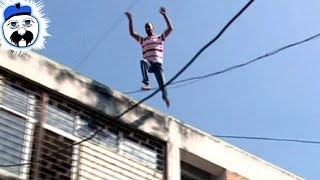 15 People Who Thought They Could Fly