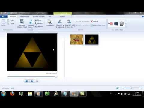 Como guardar un video de Windows movie maker en archivo .wmv
