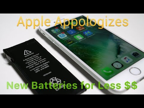 Apple Apologizes For Slowing Down Old iPhones, Offers Battery Replacements
