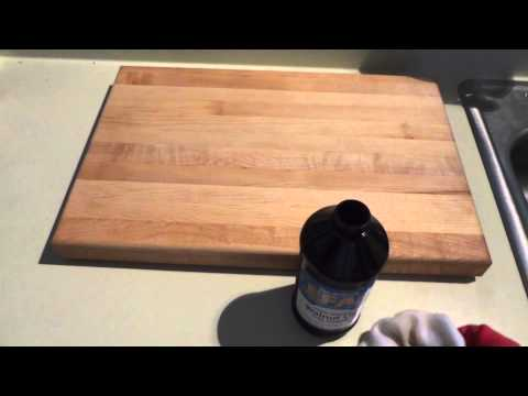 Natural Cutting Board Oil An Alternative to Mineral Oil