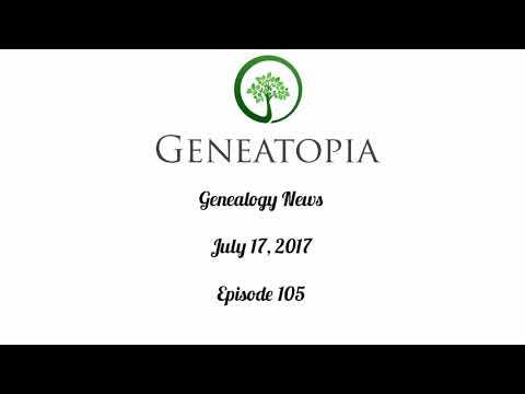 Genealogy News Episode 105
