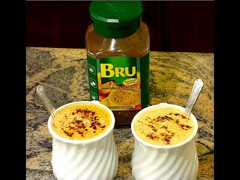 How to make BRU Instant Coffee and Roasted Chicory | Quick & Easy BRU Coffee