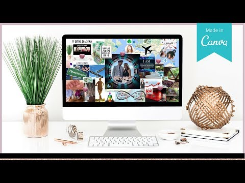 HOW TO CREATE A VISION BOARD | LAW OF ATTRACTION