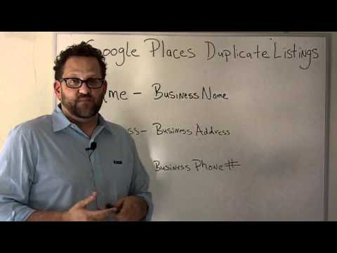 Duplicate Google Places Pages-What Causes Duplicate Google Places Pages?