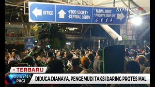 Taksi Online dan Security Cekcok di Mall Kokas