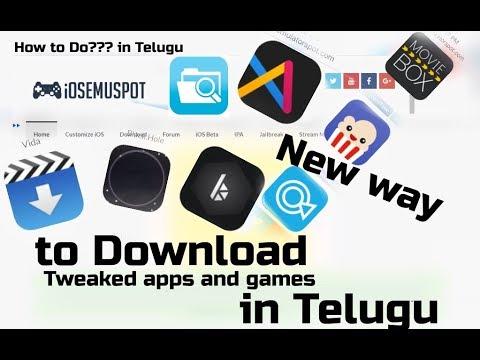 Get FREE PAID Apps + HACKED Games + Cydia Tweaks (NO JAILBREAK)  iOS 11.2.5/11.3 Beta 1 in Telugu
