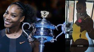 Serena Williams Won the Australian Open While PREGNANT, Proves She