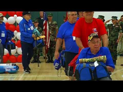Veterans welcomed home as Honor Flight returns