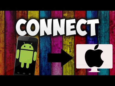 How To Connect Android Phones To Mac !!! (2016/2017)