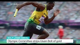 Bolt Loses Medal Olympic Committee Strips Usain Bolt Of Gold