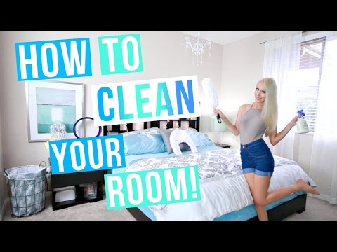 How To Clean Your Room! My Fast & Easy 4 Step System