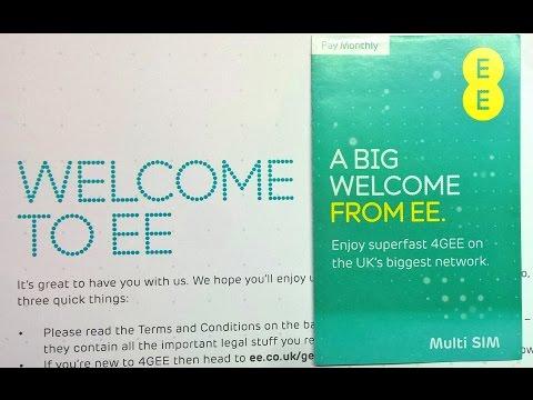 New EE contract:16GB Data/Ultd/Ultd £19.99 SIMO superdeal.+EE's amazing Customer Service