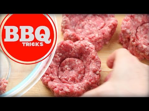 Stuffing A Burger | Barbecue Tricks