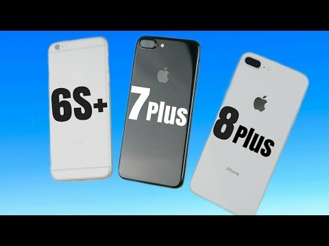 iPhone 6S Plus vs iPhone 7 Plus vs iPhone 8 Plus iOS 11.2.5