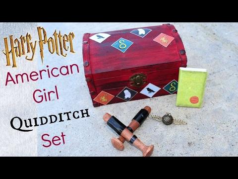 DIY American Girl Doll Quidditch Playset