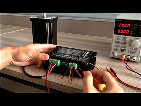 MR7A speed adjustable stepper motor driver for nema34