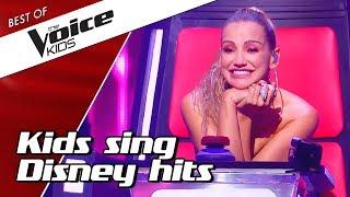 Top 10 | Kids Sing Best Disney Songs In The Voice Kids
