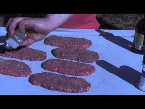 Hoagie Burger Dave's Cooking Show