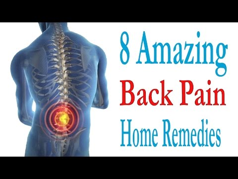 8 Amazing Home Remedies For Back Pain Treatment