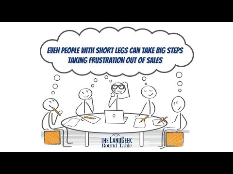 ROUND TABLE—Even People With Short Legs Can Take Big Steps—Taking Frustration Out Of Sales