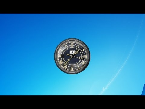 Retro Clocks Windows 7 Gadget
