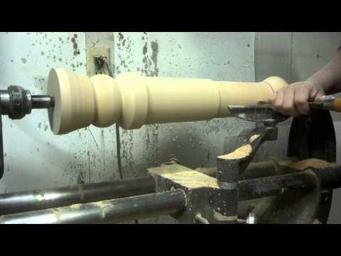 Lathing a Black powder cannon plug video 1