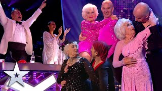 ALL PERFORMANCES from ICONIC dance duo Paddy & Nicko!   Britain's Got Talent