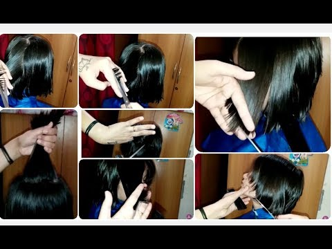 💇Step Hair Cut In Short Hair 💇Without Partition and Clips