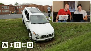 Hackers Remotely Kill a Jeep on the Highway—With Me in It